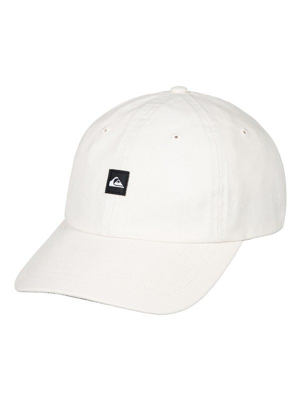 0 Fins Up Dad Hat White AQYHA03841 Quiksilver