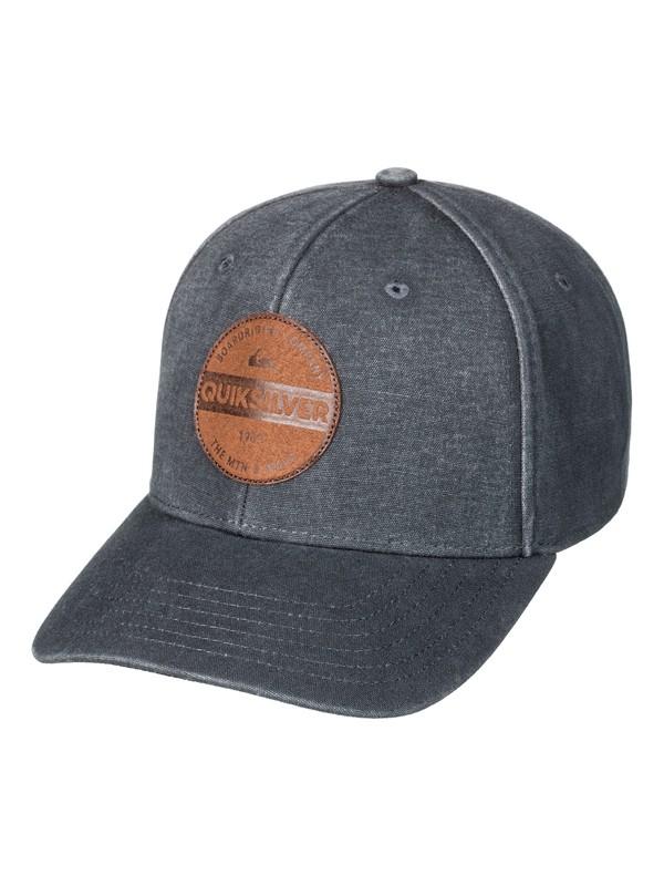 0 Blues Buster Snapback Hat Black AQYHA03842 Quiksilver