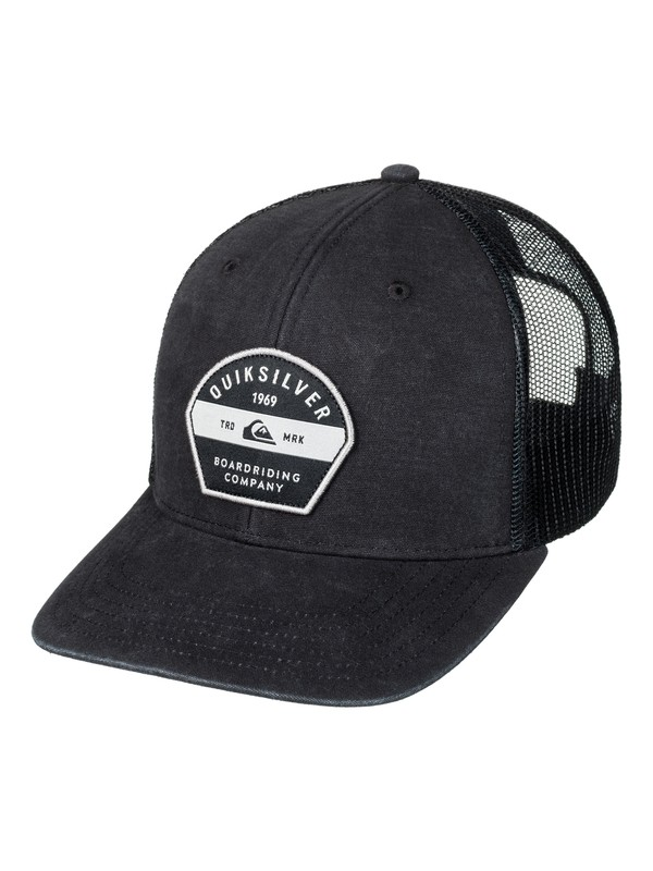 0 Silver Lining Trucker Hat Black AQYHA03845 Quiksilver