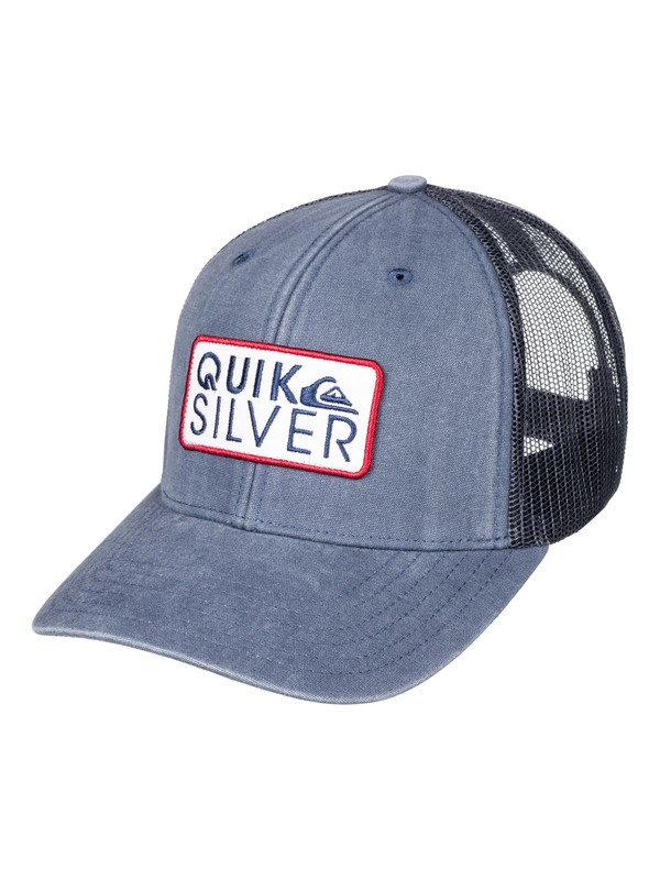 0 Shade Ride Trucker Hat Blue AQYHA03846 Quiksilver