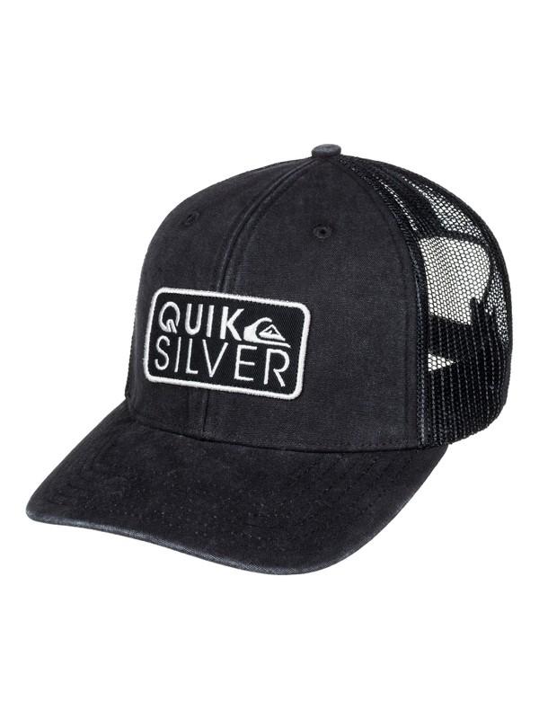0 Shade Ride Trucker Hat Black AQYHA03846 Quiksilver