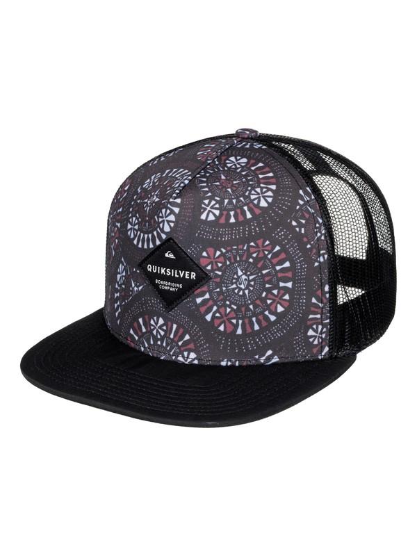 0 Brillings Trucker Hat Black AQYHA03852 Quiksilver