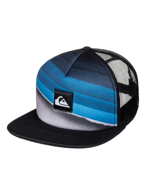 0 Slash Turner Trucker Hat Blue AQYHA03853 Quiksilver
