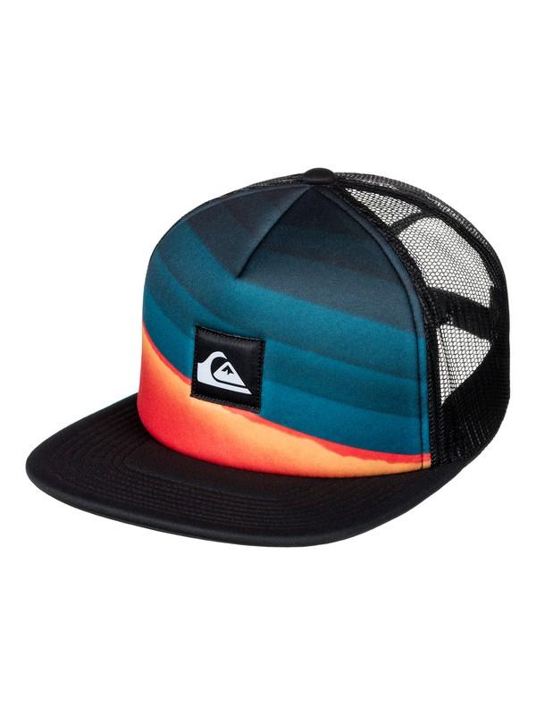 0 Slash Turner Trucker Hat Blue AQYHA03853 Quiksilver