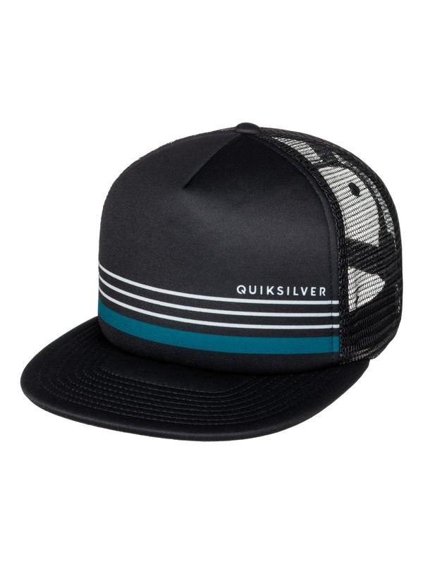 0 Straightness Trucker Hat  AQYHA03854 Quiksilver