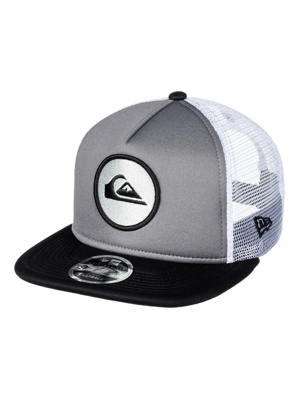 0 Con Trucker Hat Black AQYHA03855 Quiksilver