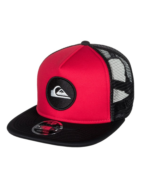 0 Con Trucker Hat Red AQYHA03855 Quiksilver