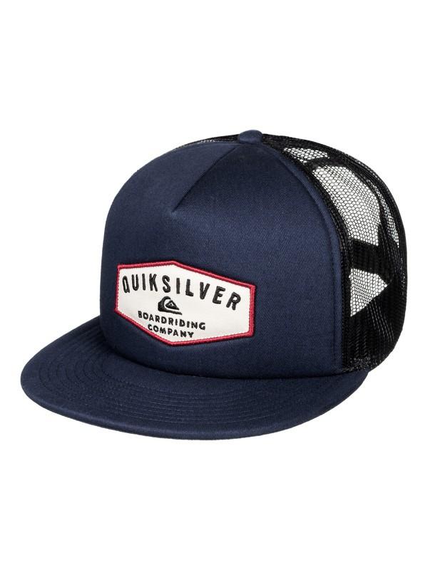 0 Jetty Grind - Casquette trucker Bleu AQYHA03856 Quiksilver