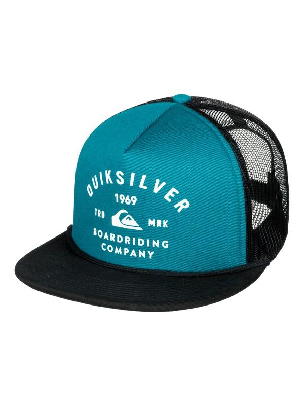 0 Spellbinder Trucker Hat Blue AQYHA03857 Quiksilver