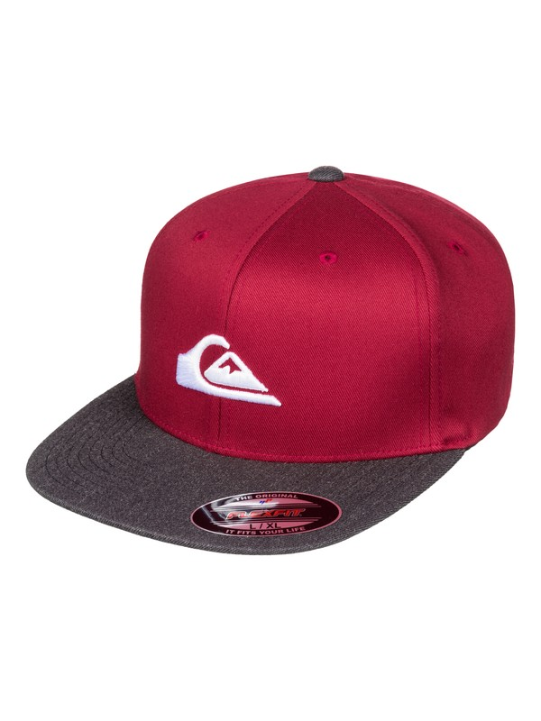0 Stuckles - Casquette 5 panel Rouge AQYHA03862 Quiksilver