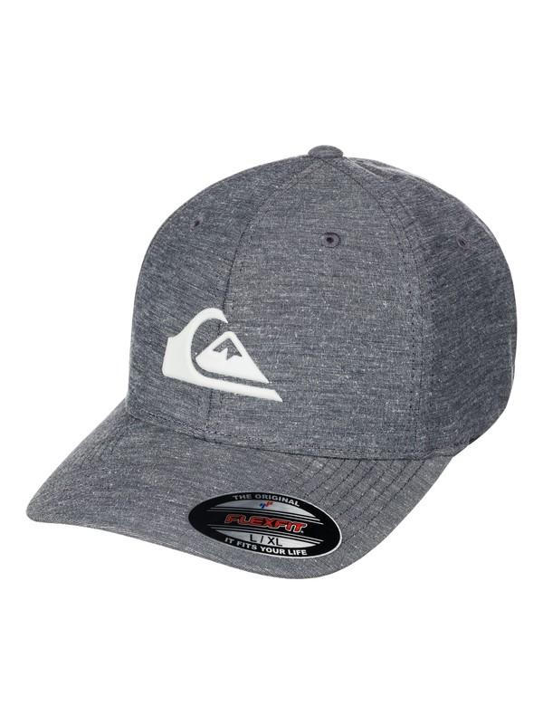 0 Union Stretch Flexfit Hat Black AQYHA03863 Quiksilver