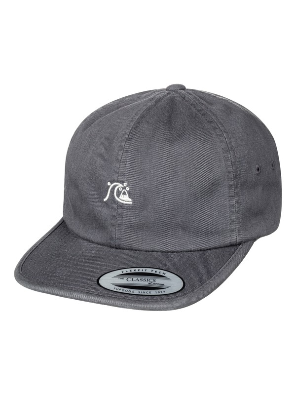 0 Men's Minimalize Dad Hat Black AQYHA03941 Quiksilver