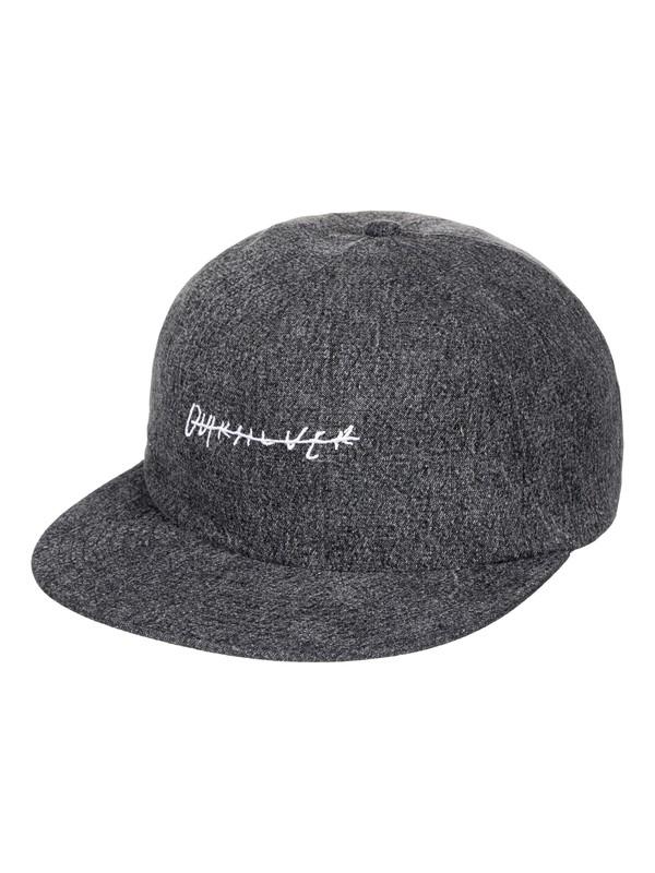0 Men's Pinches Snapback Hat Black AQYHA03952 Quiksilver