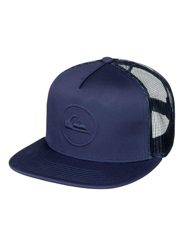 0 Men's No Pressure Trucker Hat  AQYHA03962 Quiksilver