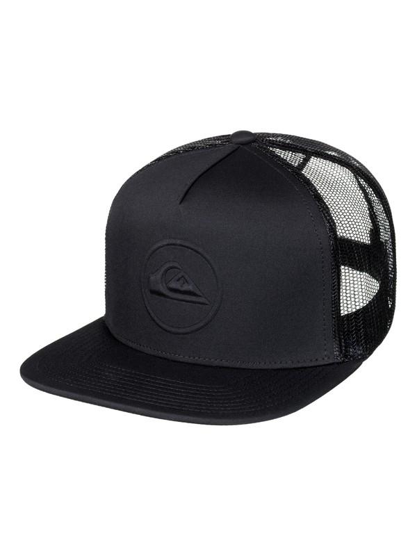 0 Men's No Pressure Trucker Hat Black AQYHA03962 Quiksilver