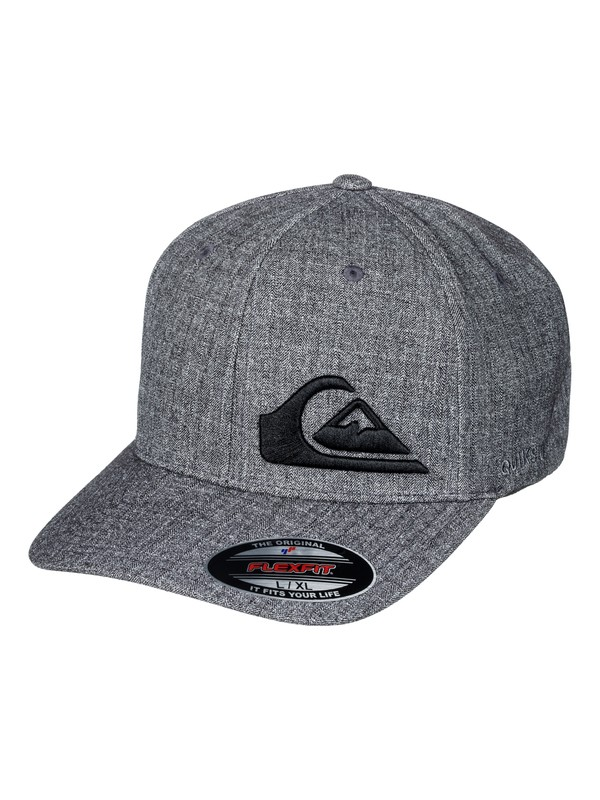 0 Final - Flexfit Cap Black AQYHA03982 Quiksilver
