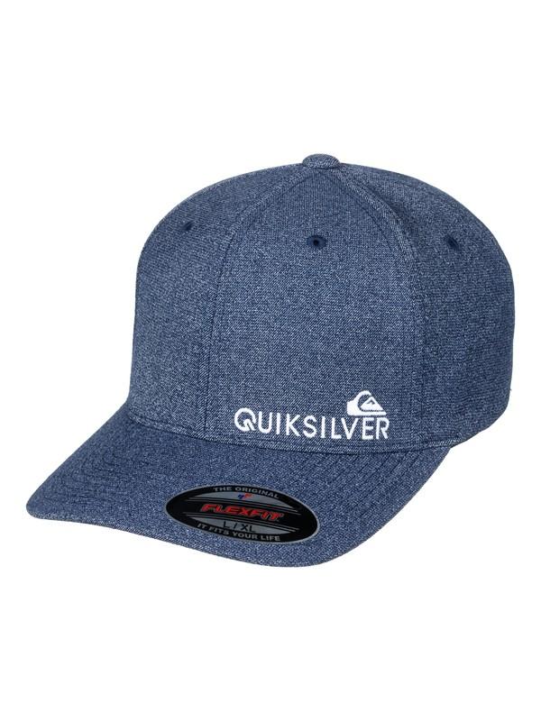 0 Sidestay - Flexfit Cap Blue AQYHA03985 Quiksilver