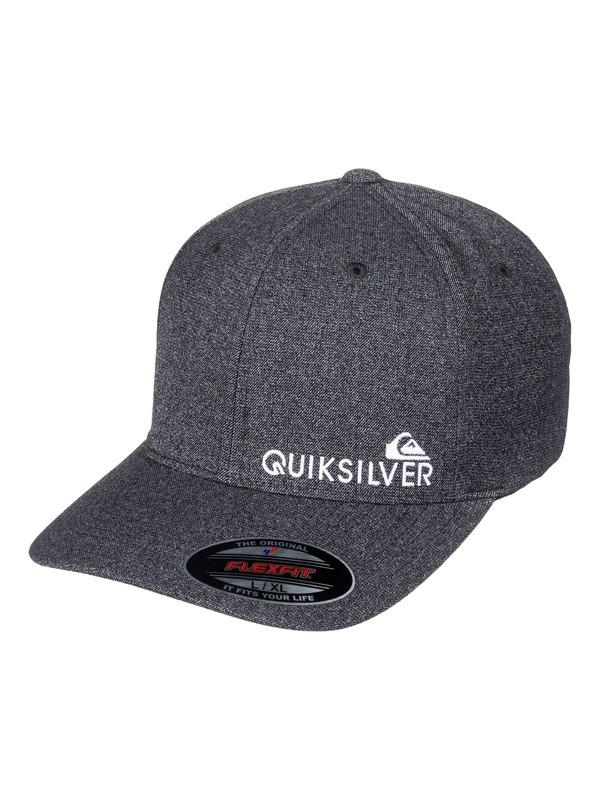 0 Sidestay Flexfit Hat Black AQYHA03985 Quiksilver