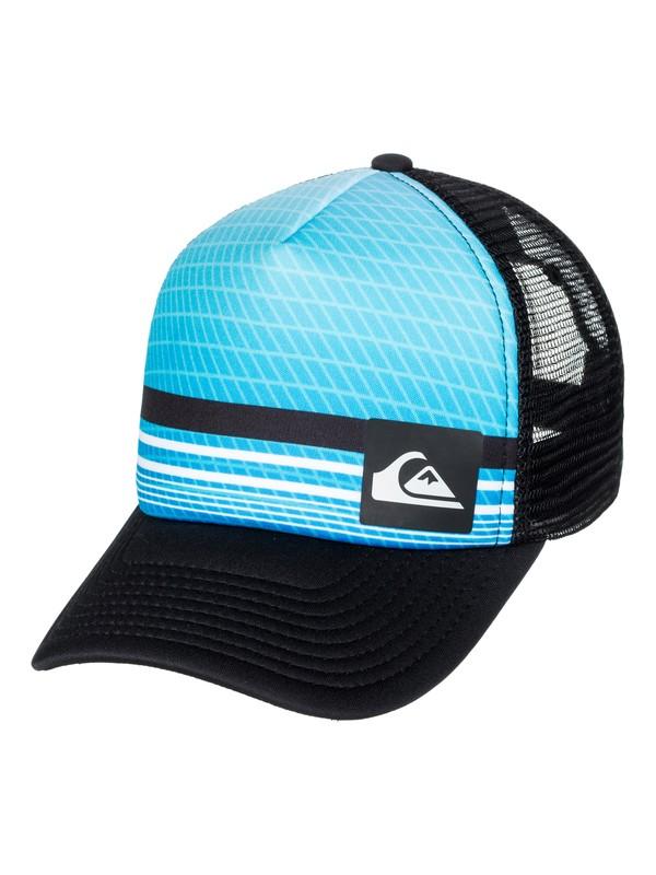 0 Foambition Trucker Hat Blue AQYHA03986 Quiksilver