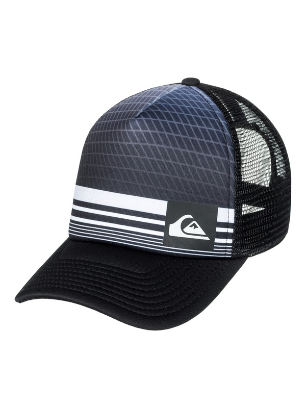 0 Foambition Trucker Hat Black AQYHA03986 Quiksilver