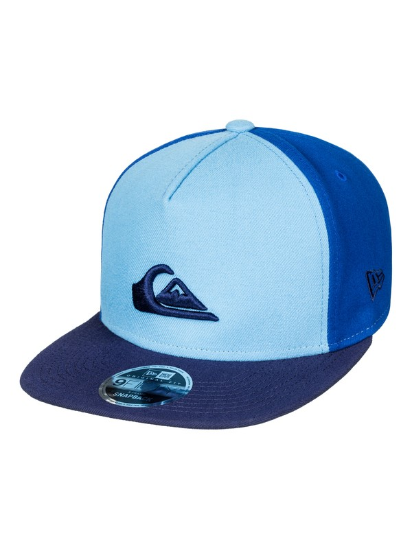 0 Stuckles Snap - Snapback Cap Blau AQYHA03989 Quiksilver