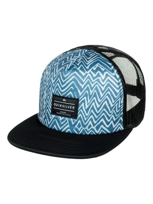 0 Brissells Trucker Hat Blue AQYHA03990 Quiksilver