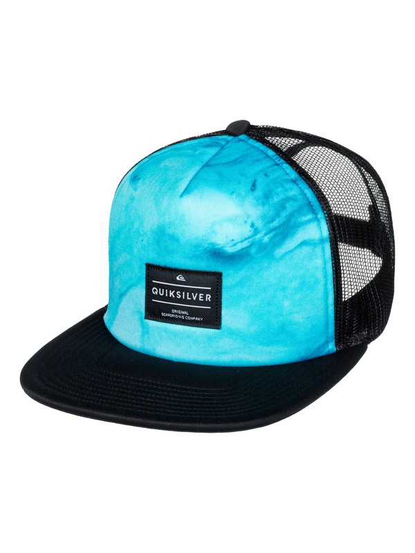 0 Brissells Trucker Hat Black AQYHA03990 Quiksilver