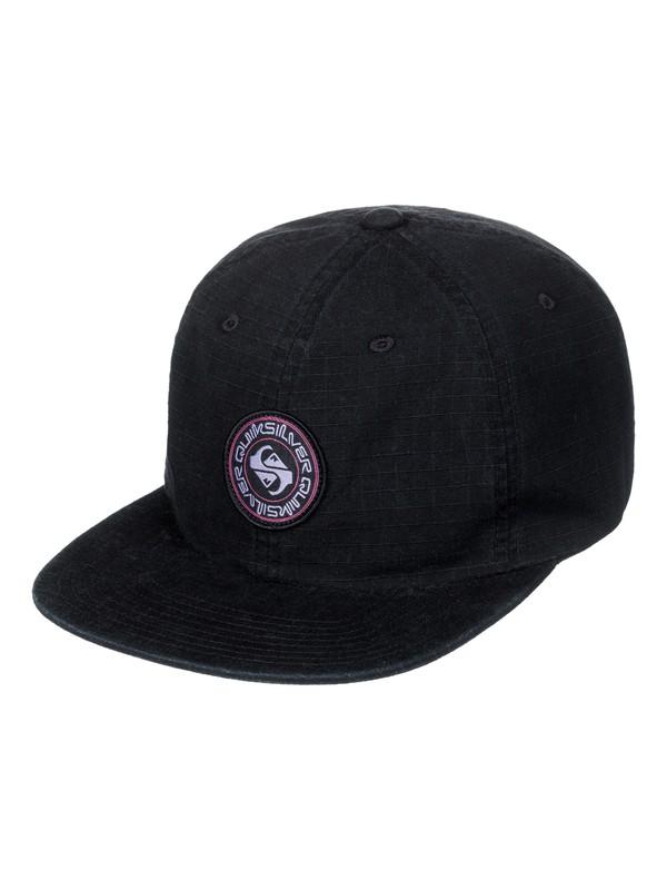0 Close Caller - Strapback Cap Black AQYHA04010 Quiksilver