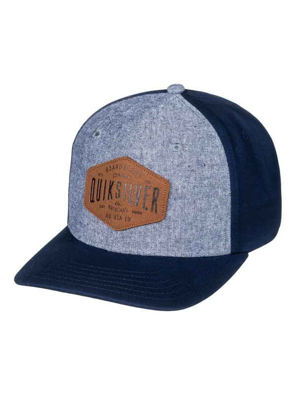 0 Sleater Vine - Casquette trucker Bleu AQYHA04015 Quiksilver
