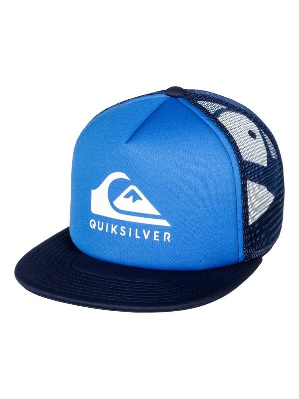 0 Foamslay - Trucker Cap Blue AQYHA04033 Quiksilver