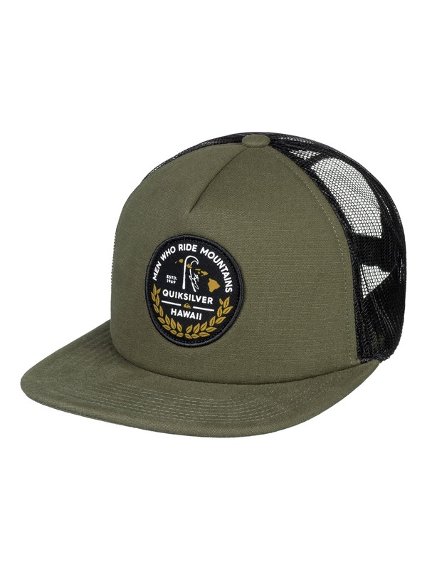 0 MWRM Legend - Trucker Cap Brown AQYHA04116 Quiksilver