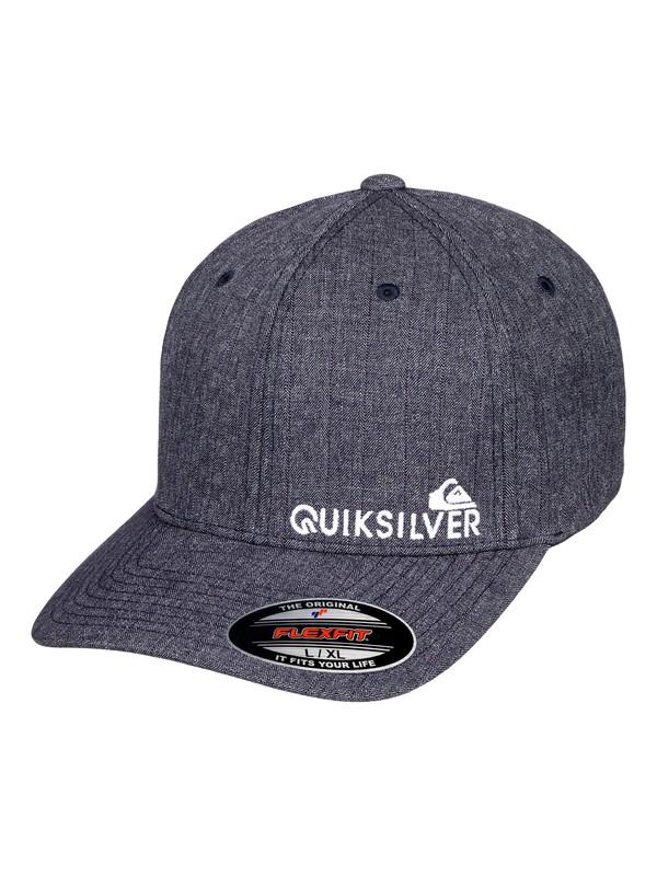 0 Sidestay - Flexfit Cap Blau AQYHA04121 Quiksilver
