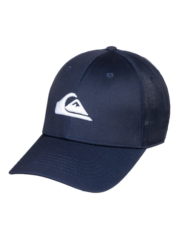 0 Decades - Snapback Cap Blau AQYHA04139 Quiksilver