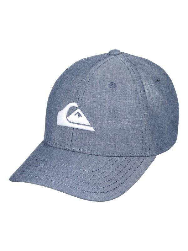 0 Charger Plus - Snapback Cap Blue AQYHA04140 Quiksilver