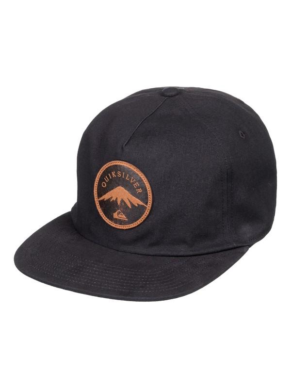0 Mountain Stasher - Gorra ajustable Negro AQYHA04165 Quiksilver