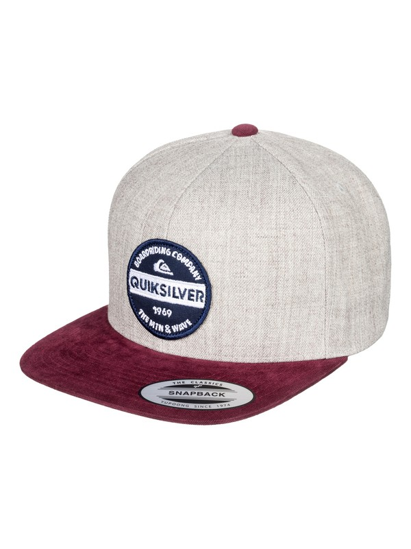 0 Firm Chowder - Snapback Cap Schwarz AQYHA04168 Quiksilver