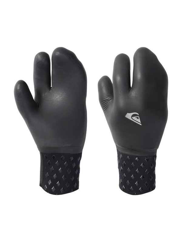 0 Neo Goo 5mm 3 Finger Gloves Black AQYHN03002 Quiksilver