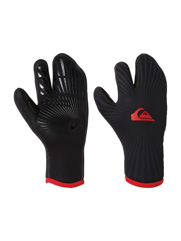 0 Syncro 7mm 3 Finger Mitts  AQYHN03005 Quiksilver