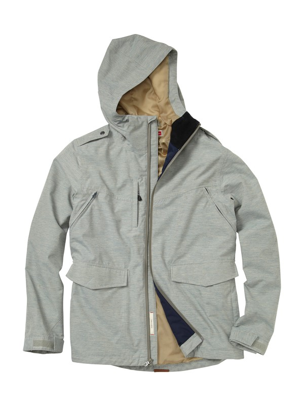 0 Orange Sunshine Jacket  AQYJK00050 Quiksilver