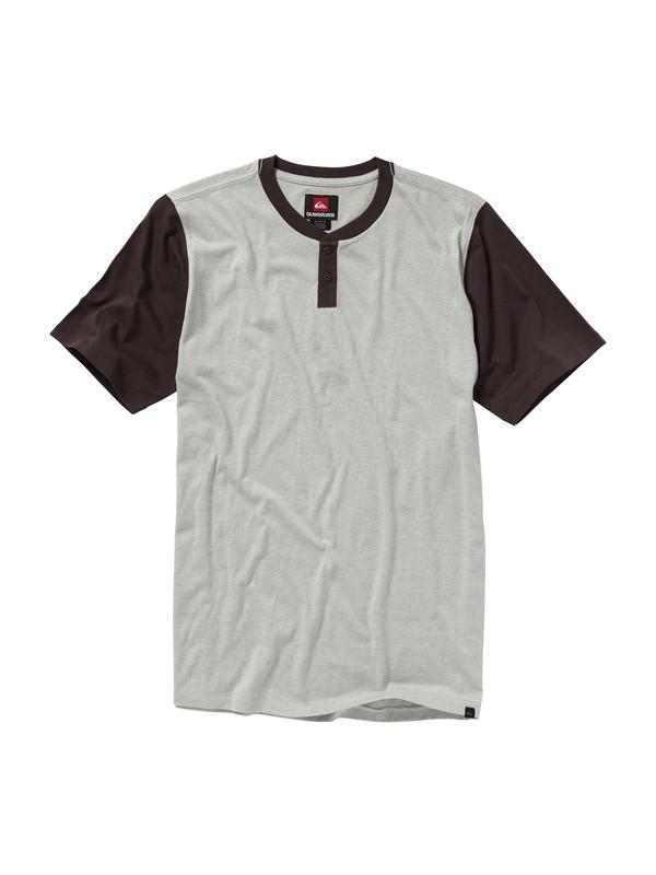 0 Shacked Henley T-Shirt  AQYKT00115 Quiksilver