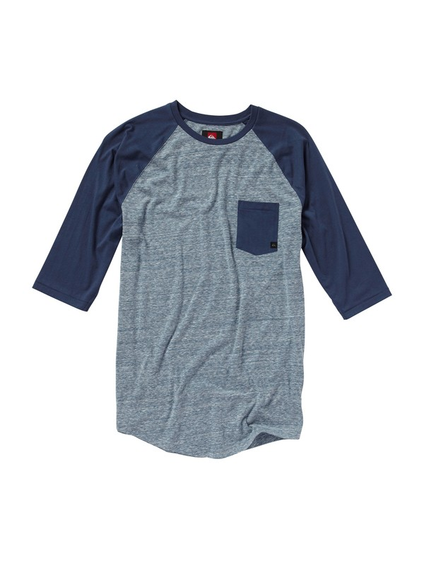 0 Slow Pitch 3/4 Sleeve T-Shirt  AQYKT00118 Quiksilver