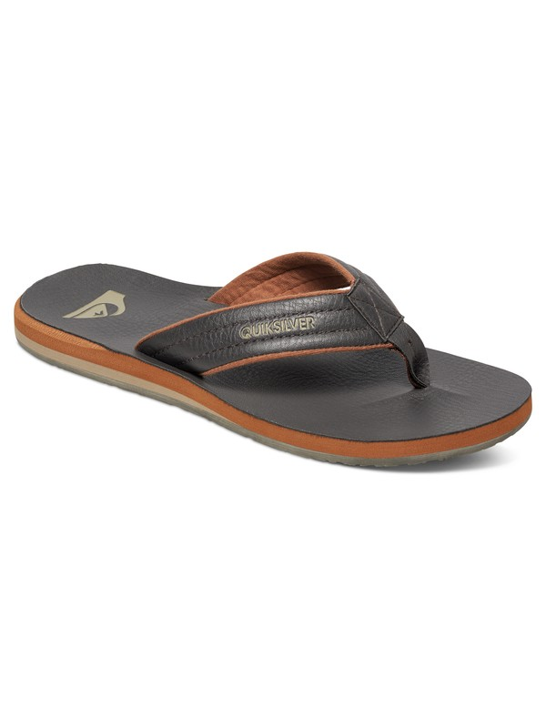 0 Carver Nubuck Sandals Brown AQYL100040 Quiksilver