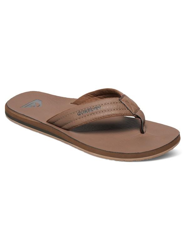 0 Carver Nubuck - Sandals Beige AQYL100040 Quiksilver