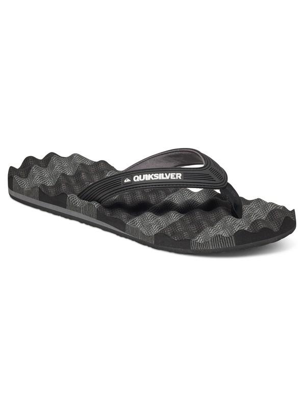 0 Massage Sandals Black AQYL100045 Quiksilver
