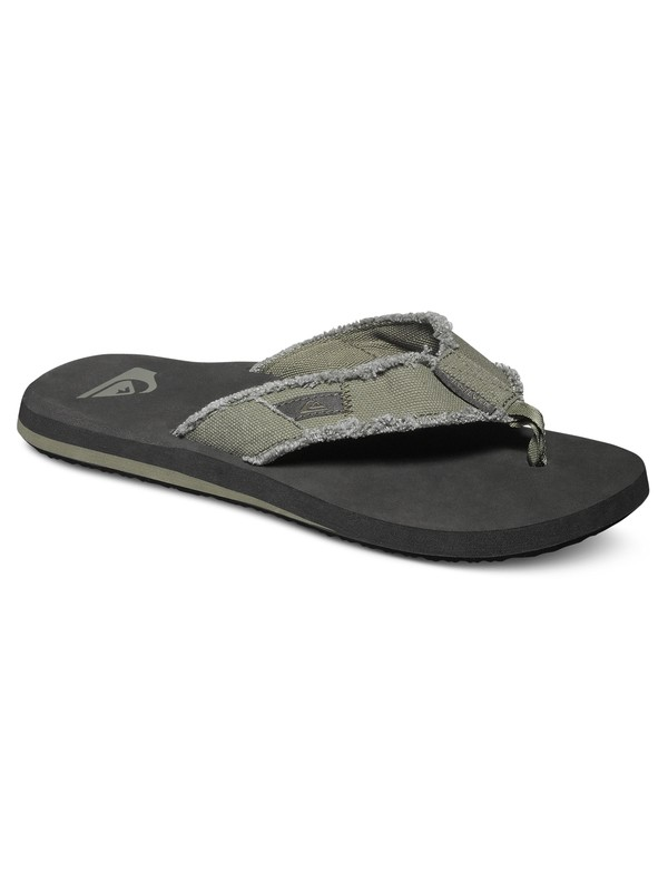 0 Monkey Abyss - Sandals Green AQYL100047 Quiksilver