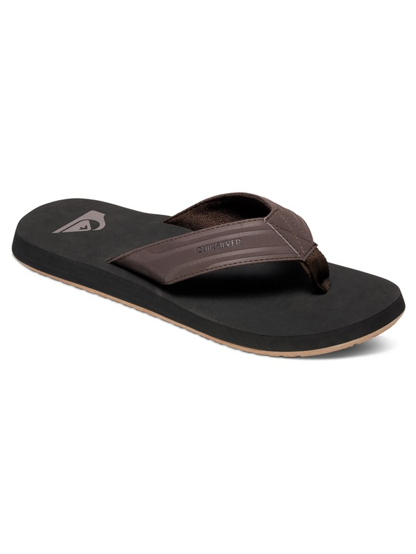 0 Monkey Wrench - Flip-Flops Brown AQYL100048 Quiksilver