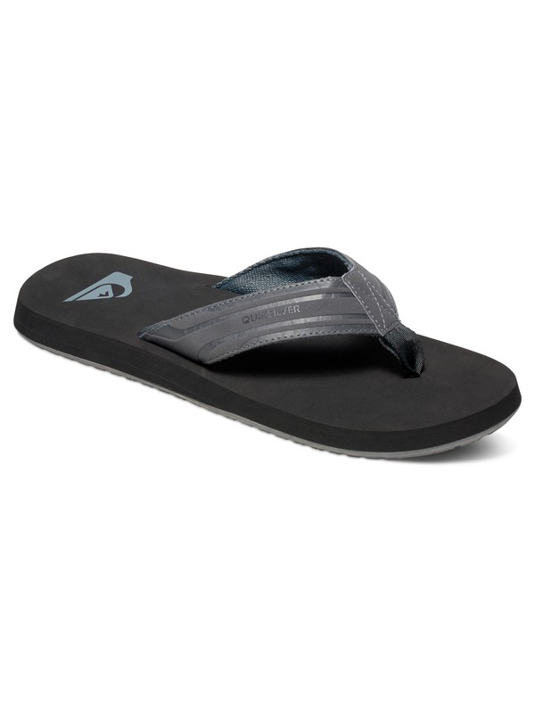 0 Monkey Wrench - Sandals Grey AQYL100048 Quiksilver