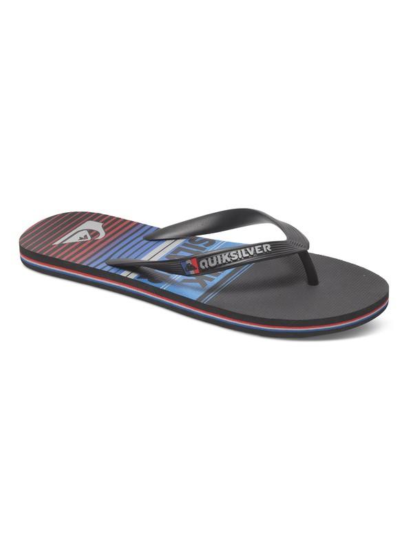 0 Molokai Vertigo Stripe Sandals  AQYL100086 Quiksilver