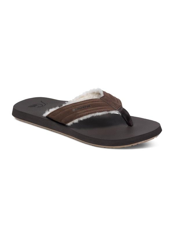0 Monkey Fluff Leather Sandals  AQYL100156 Quiksilver
