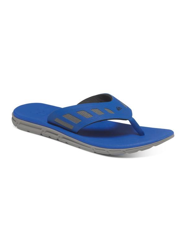0 AG47 Flux - Sandales Bleu AQYL100210 Quiksilver